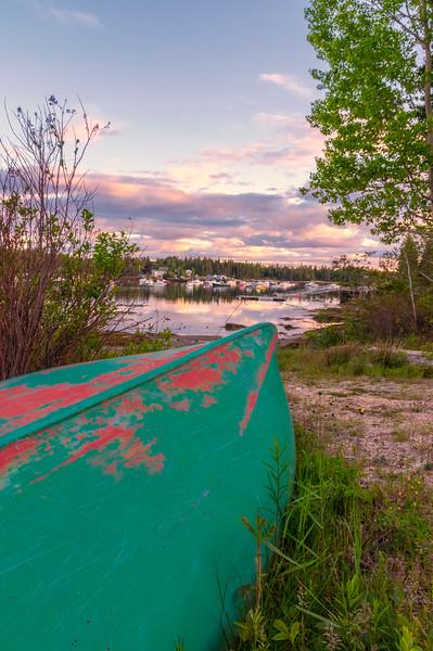 Canoe, Deer Isle, Maine