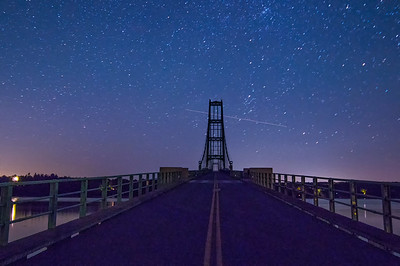 Starlit Deer Isle Bridge 2, Deer Isle, Maine