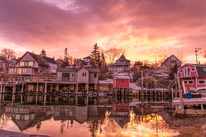 Stonington Sunset, Stonington, Deer Isle, Maine