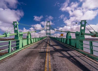 Deer Isle Bridge on a Spring Day
