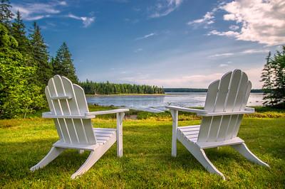 Herricks Cove Adirondacks, Brooklin, ME