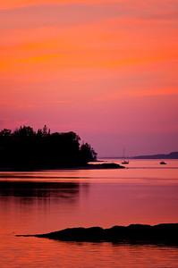 Item # DIM  0080  Northwest Harbor, Deer Isle, Maine 1
