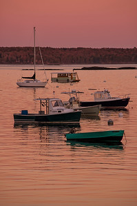 Falmouth Town Landing, Maine at Dusk