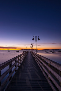 First Star on the Left, Falmouth Town Landing, Maine