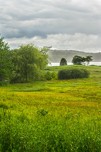 Summer Storm Rolling in, Gilsland Farms Audubon, Falmouth, Maine