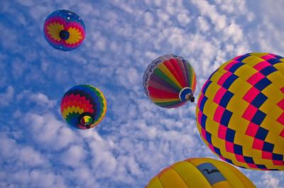 Takeoff, Great Falls Balloon Festival 20x30