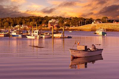 Garrison Cove, Bailey Island Sunset 20x30