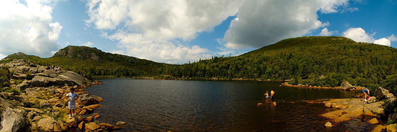 Tumbledown Mountain Panorama