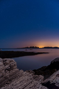 Looking Eastward to the Stars, Kettle Cove, Cape Elizabeth, Maine
