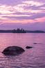 Sebago Lake at Sunset, Standish, Maine