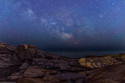 Fort Williams Milky Way, Cape Elizabeth, Maine