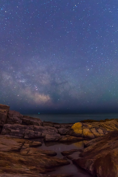 Fort Williams Milky Way, Cape Elizabeth, Maine 2