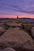 March Sunrise, Spring  Point Ledge Light, South Portland, Maine