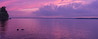 Sebago Lake at Sunset, 15 image Panorama