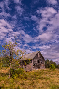 Abandoned Barn, Unity, Maine
