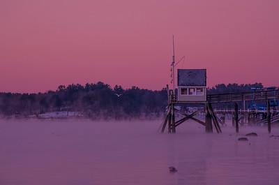 January Sea Mist, Falmouth, ME 2