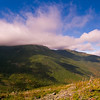 Mount Washington's halfway point in early October, New Hampshire