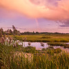 Scarborough Marsh Rainbow, Scarborough, Maine