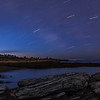Kettle Cove Star Trail 2, Cape Elizabeth, Maine