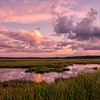 September Sunset, Scarborough Marsh, Maine