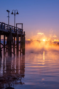 Sea Mist at Falmouth Town Landing