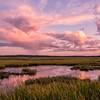 September Sunset 2, Scarborough Marsh, Maine
