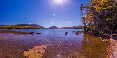 Eagle Lake, Acadia National Park Panorama