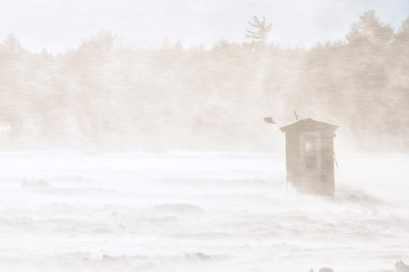Crystal Lake, Maine White Out