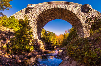 Duck Brook Bridge, Acadia National Park, Panorama 2