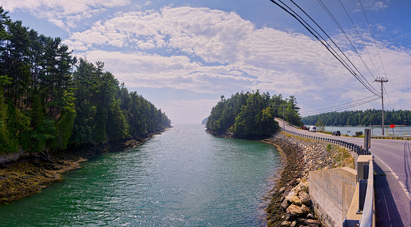 Orr's Island Causeway, Maine