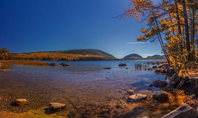 Eagle Lake, Acadia National Park, Panorama 2