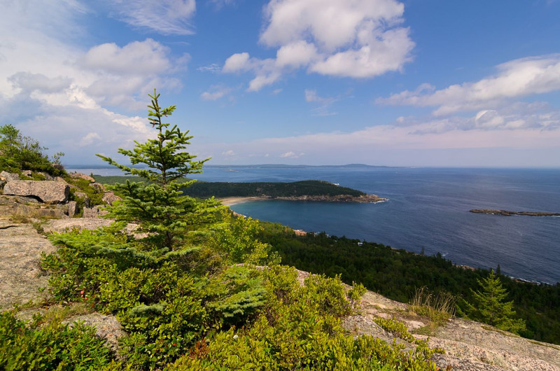View of Sand Beach from Gorham 3