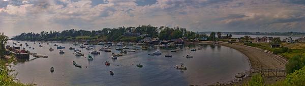 Mackerel Cove, Bailey Island Panorama 1