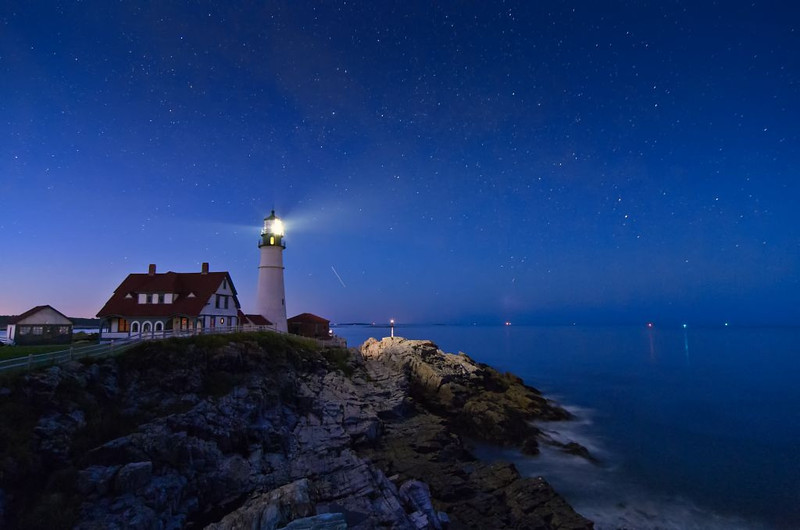 Starry Portland Head Light 1