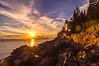 Bass harbor Light October Sunset 206
