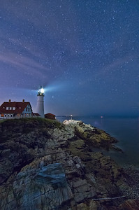 Starry Portland Head Light 2