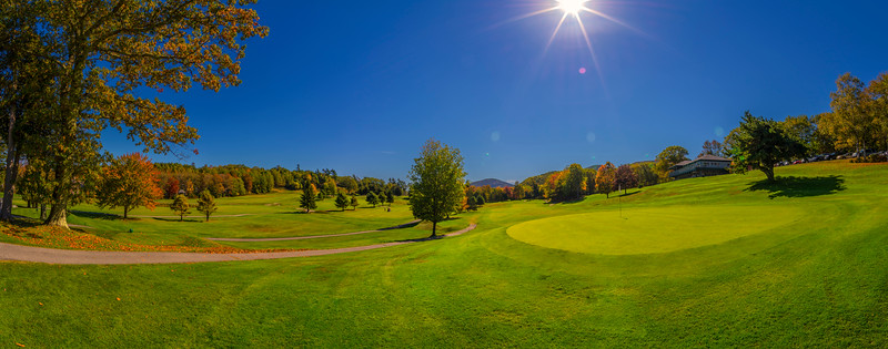 Kebo Valley Golf Course, Mount Desert Island, Maine panorama