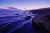 Spring Point Ledge Light at Sunset/Twilight, South Portland, Maine.