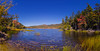 Upper Hadlock Pond, Acadia National Park, Maine Panorama