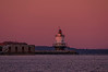 Spring Point Ledge Light at dawn, taken from Willard Beach, South Portland, Maine