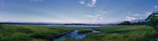 Back bay, Portland Maine Panorama 2 cropped