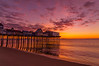 Old Orchard beach at Sunrise in October.