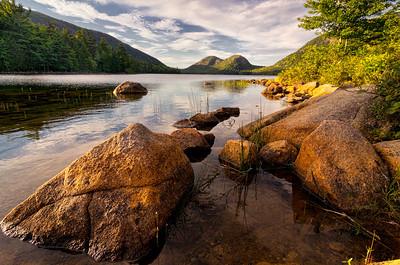 Jordan Pond Rocks 9776