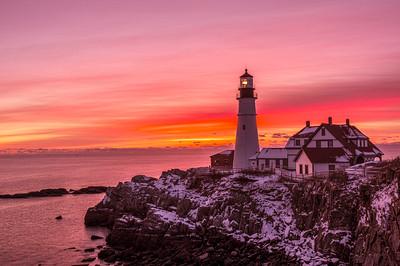 Sailors Take Warning, Portland Head Light, Cape Elizabeth, Maine