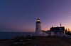 Pemaquid Point Light at Twilight 6816
