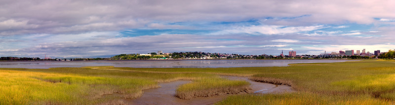 Back Bay, Portland, Maine Autumnal Panorama