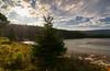 Sunny Summer Rain Storm in Acadia NP