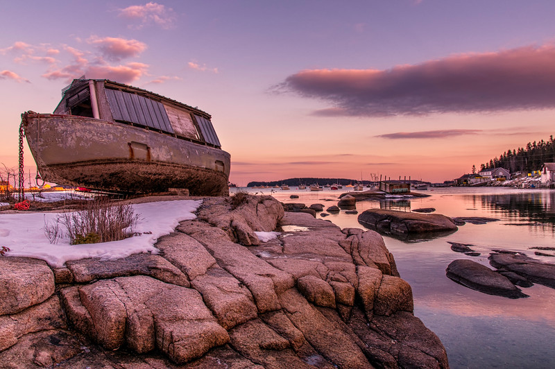 Noah's Ark?  Stonington Harbor, Deer Isle, Maine