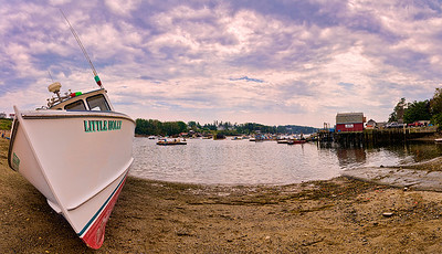Mackerel Cove, Bailey Island, Maine panorama