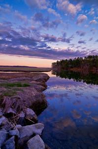 Scarborough Marsh at Sunset 2